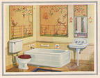 image art nouveau bathroom