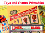 go to miniature printable toys and games